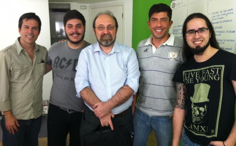 Miguel Nicolelis na Agência Casulo