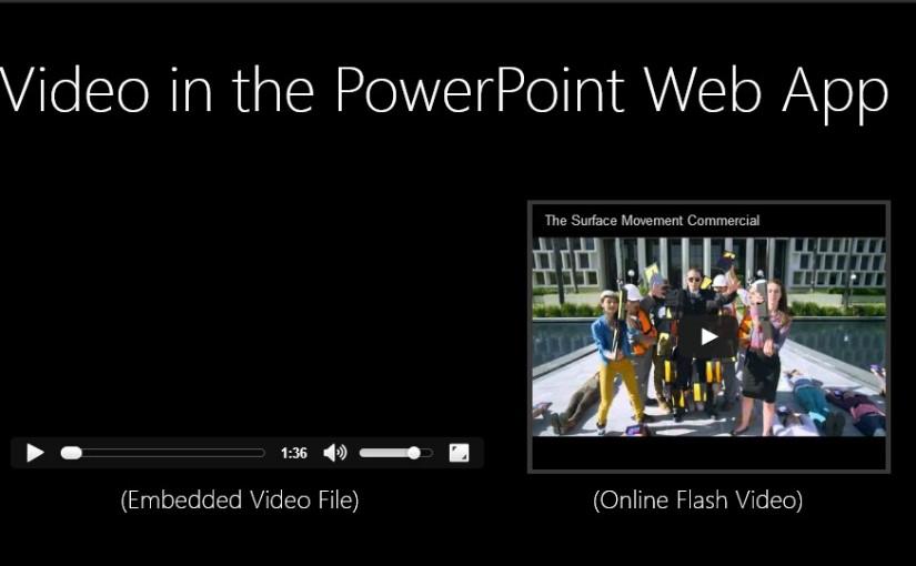 Vídeo nas Apresentações em PowerPoint